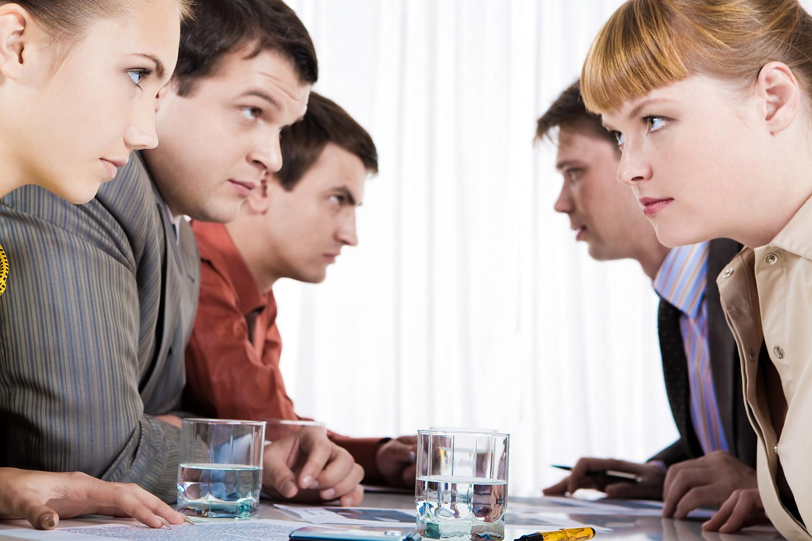 Cum rezolvi conflictele de la birou