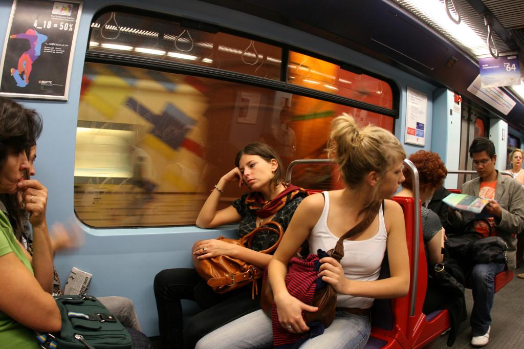 stressul in metrou
