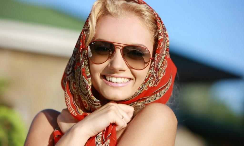protectie solara cu ochelari de soare