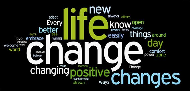 despre schimbare