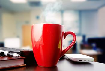 cafea la birou