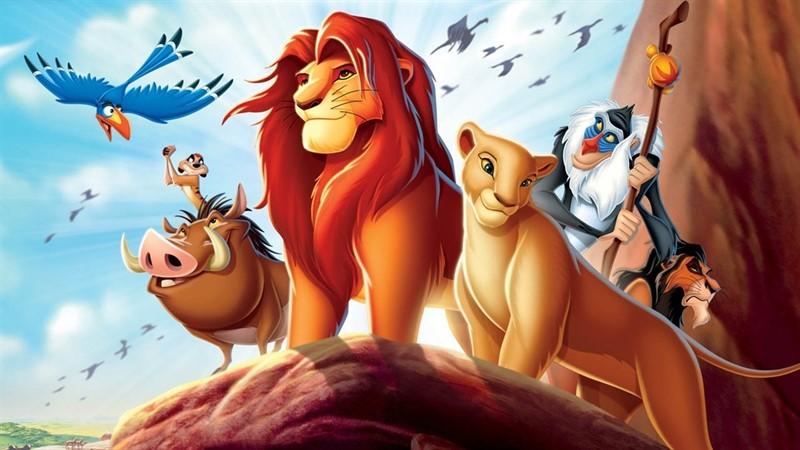 regele leu, top filme de familie