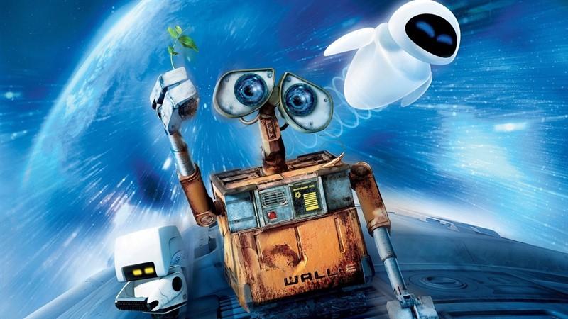 wall-e, top filme de familie
